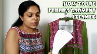 Philips Garment Steamer GC310 Demo and Review | How to Use Philips Garment Steamer | Steam & Go