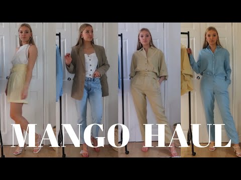 MANGO HAUL AND TRY-ON | MAY 2019 | LYDIA TOMLINSON