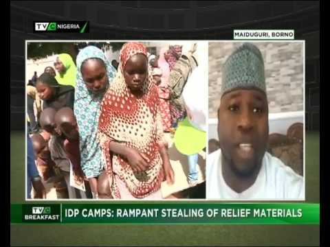 TVC Breakfast 9th May 2017 | Stealing of IDPs foods