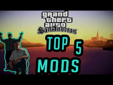 GTA San Andreas - Top 5 Awesome Cleo Mods 2018