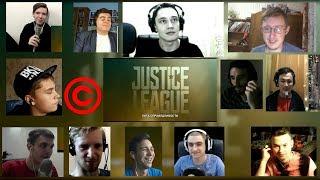 [ПЕРЕЗАЛИВ] Лига Справедливости - трейлер с Comic-Con | МЭШАП РЕАКЦИЯ