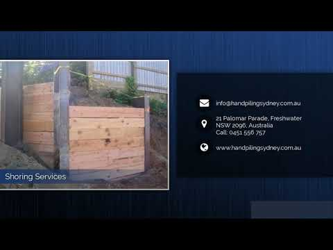 Piling Contractors Sydney | Difficult Access Piling  - Peters Piles