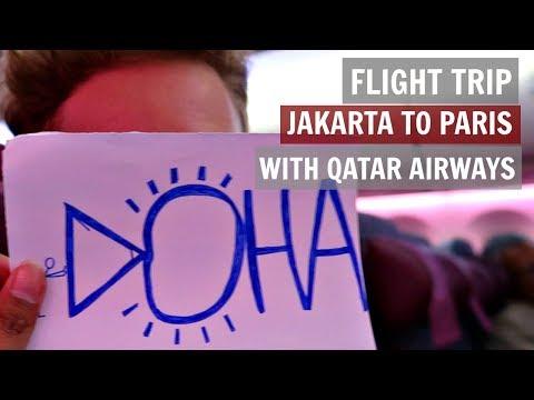 JAKARTA KE PARIS DENGAN QATAR AIRWAYS VLOG   MattHera