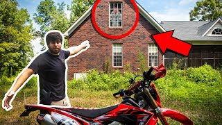 EXPLORING THE INSIDE OF AN ABANDONED HOUSE! *HOMELESS MAN*