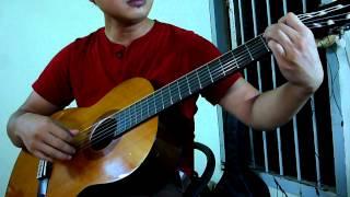 Đêm Nằm Mơ Phố - classical guitar by maunangnhat