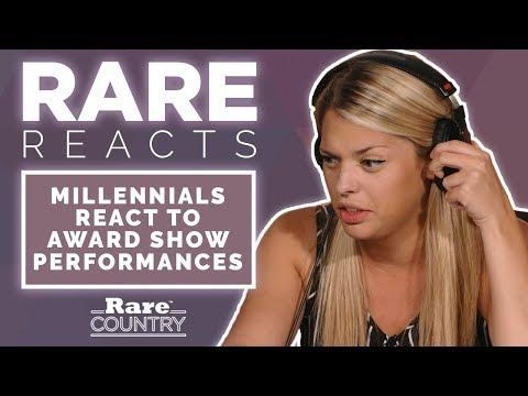 Millennials React To Award Show Performances | Rare Reacts