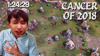 THE CANCER GAME OF 2018 (SingSing Dota 2 Highlights #1094)