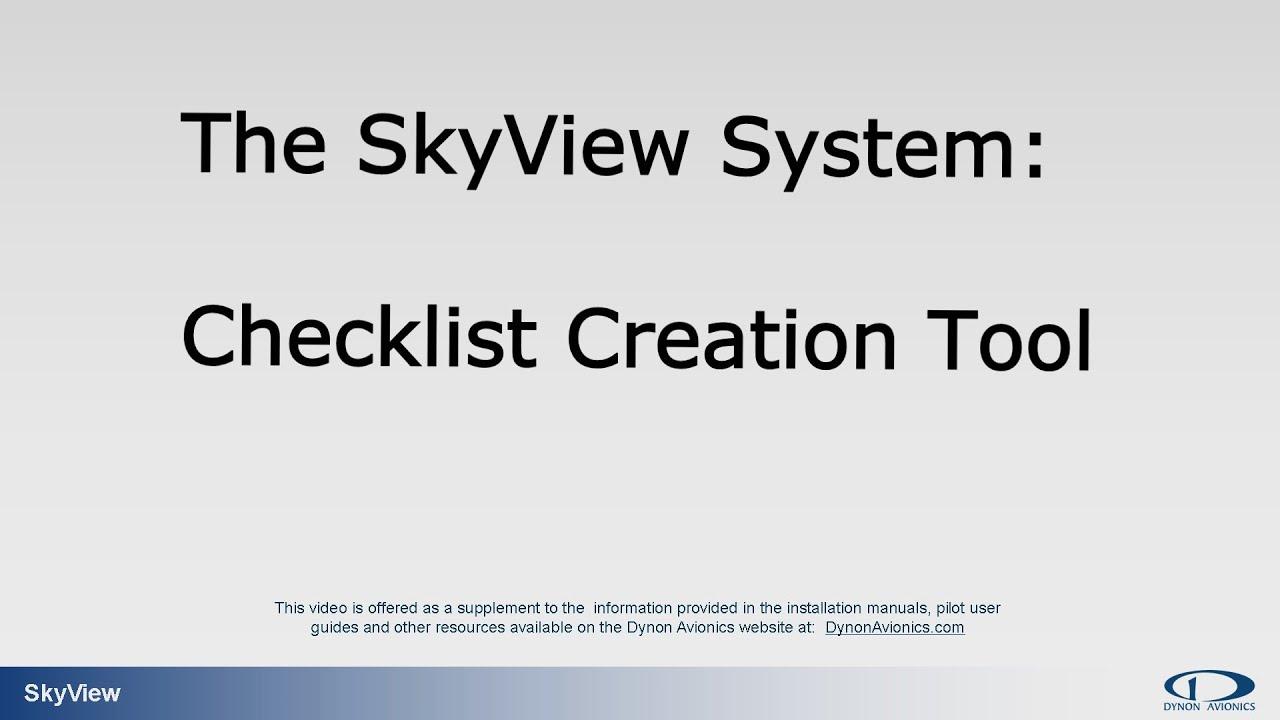 checklist creator