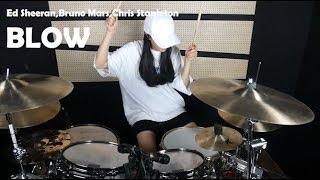 Ed Sheeran,Bruno Mars,Chris Stapleton - BLOW Drum Cover *Yunhee* Video