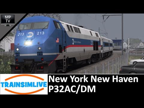 Train Simulator - New York New Haven, P32AC/DM