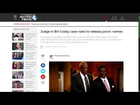 Cosby Trial Judge Retaliates Against Jury by Giving Their Names to the Media
