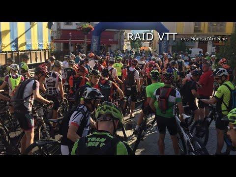 Raid VTT des Monts d'Ardèche 2016  - Etape 2 et 3