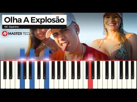 💎💎💎MC Kevinho - Olha a Explosão (Piano tutorial)💎💎💎