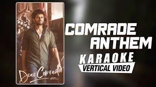 comrade-anthem---karaoke-dear-comrade-telugu-vijay-deverakonda-justin-prabhakaran-bharat-kamma