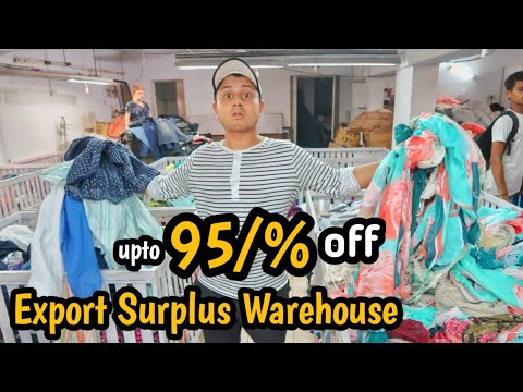 95%off on Branded Cloths Warehouse | Export surplus garments | shirt,  T-shirt, jeans, Top | VANSHMJ