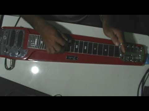 Ao Findar o Labor  Guitarra Havaiana lap steel guitar Junior Dornelas