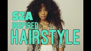 How To | SZA Inspired Hairstyle