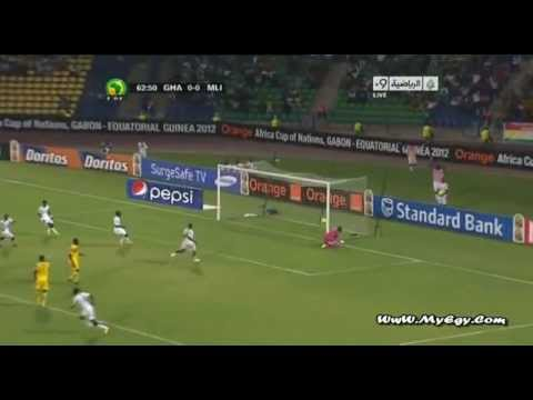 Ghana - 2 vs 0 - Mali ● Africa Cup Of Nations 2012