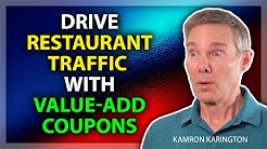 Drive Restaurant Traffic with Coupons and no Discount - Restaurant Marketing Help #restaurantsales