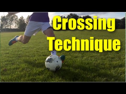 Crossing Technique Football | Part 1