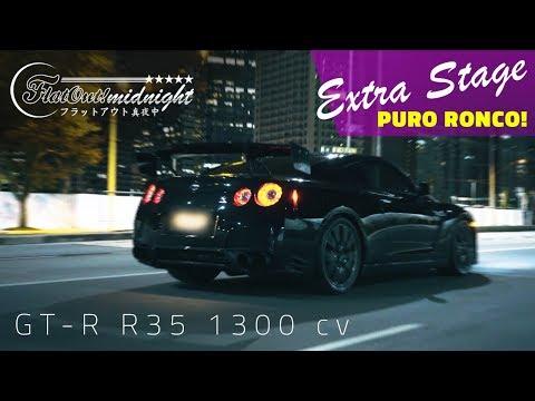 [PURO RONCO] NISSAN GTR R35 1300 hp | FlatOut Midnight Extra Stage