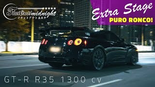 [PURO RONCO] NISSAN GTR R35 1300 hp | FlatOut Midnight Extra Stage