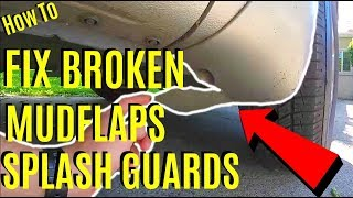 Video How To Fix Broken or Cracked Mud Flaps Splash Guard -Jonny DIY download MP3, 3GP, MP4, WEBM, AVI, FLV April 2018