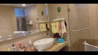 vlog review setiap ruangan di dalam hotel disela sela majikan tidur