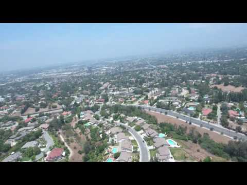 Los Angeles from Above, West Covina Aerial