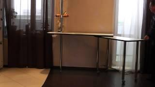 Интересное решение - Поворотные барные стойки!(Заказать нестандартную мебель можно тут http://dodele.ru/, 2015-01-27T12:50:43.000Z)