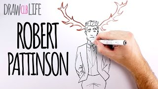 Robert Pattinson - Draw my life en español CLB Life