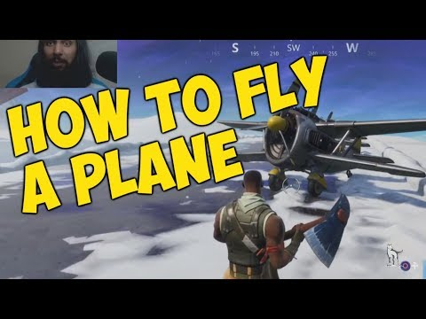 How To Fly A Plane In Fortnite