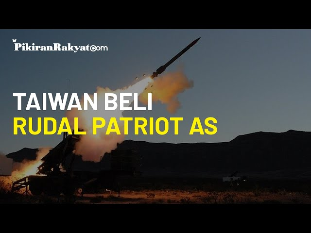 Beijing Ganggu Kedaulatannya, Taiwan Beli Rudal Patriot dari AS