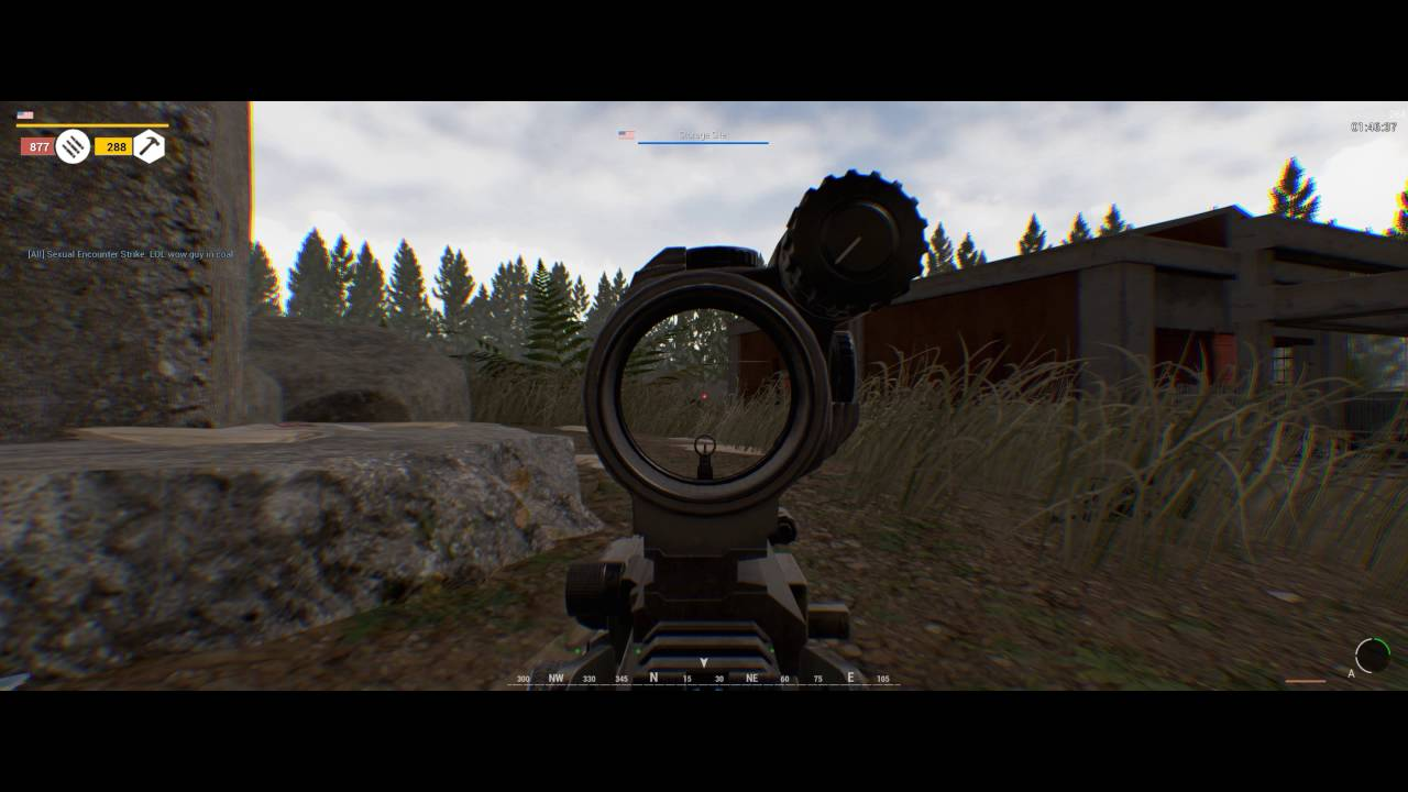 Squad gameplay as US automatic rifleman