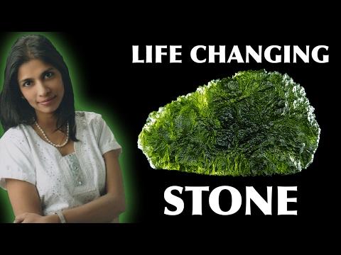 MOLDAVITE the life changing stone