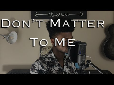 DRAKE FT. MICHAEL JACKSON - DON'T MATTER TO ME (Cover By Darien Bernard)