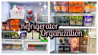 EXTREME REFRIGERATOR ORGANIZATION | REFRIGERATOR ORGANIZATION IDEAS | NEST WITH ME | Tara Henderson