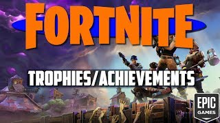 All Fortnite Trophies! Achievements Leaked? | Fortnite Information!