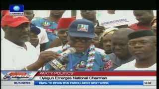 Party Politics: Oyegun Emerges New APC Chairman