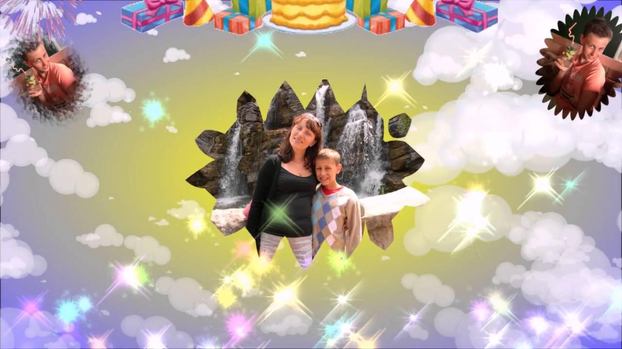 Поздравление с Днем Рождения-Любимому Внуку! - YouTube