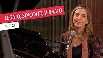 3 Voice Techniques: Legato, Staccato, Vibrato | Singing | Vocals | Voice | Lesson