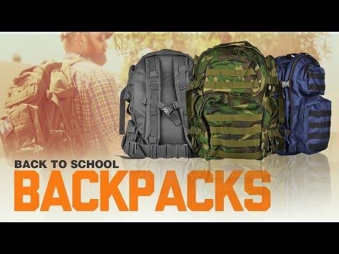 Back To School Backpacks at Airsoftmegastore com