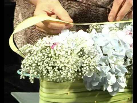 Practical Floristry Ep 5 Centrepiece Arrangement Youtube