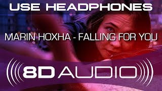 Marin Hoxha - Falling For You ft. Annie Sollange (8D AUDIO)