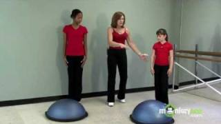 Fitness for Kids - Using a Bosu Ball for Jumping
