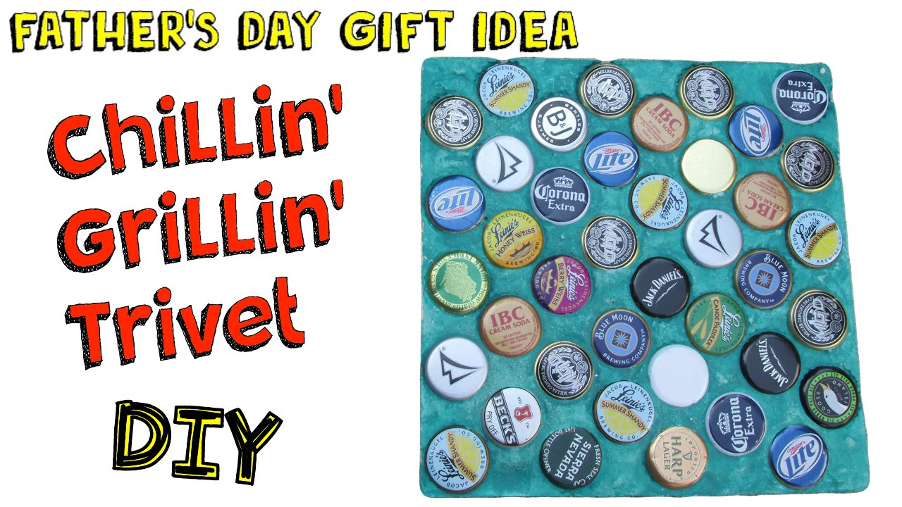 Chillin' Grillin' Trivet DIY - Easy Bottle Cap Recycling ...