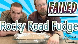 How to Fail at Rocky Road Fudge, Awkward Cooking #6