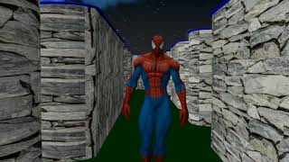 Pacman Spiderman Zombies Animation 3D