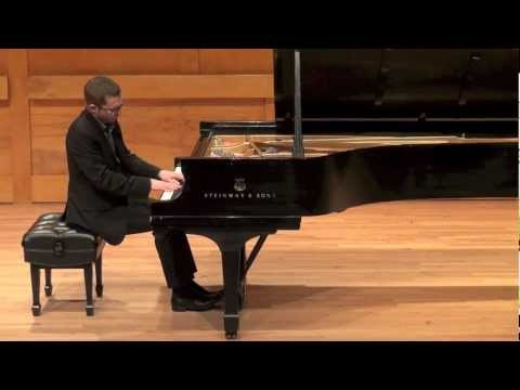 Prokofiev- Sonata No. 7 in B-flat Major, Op 83, Mvt 1- Matthieu Cognet, piano
