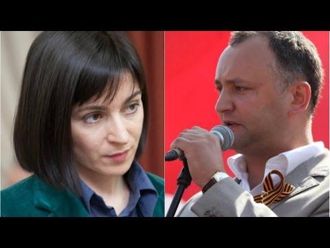 Igor Dodon Vs Maia Sandu - YouTube